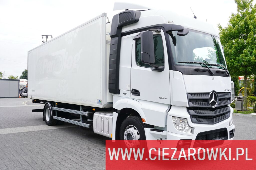 MERCEDES-BENZ Actros 1842 , E6 , 4x2 , 19 EPAL , 170,000km , 2015 , Carrier 85 frigorifik kamyon