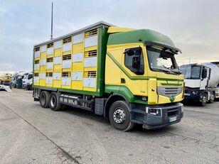 kaza sonrası RENAULT PREMIUM 460  hayvan nakil aracı