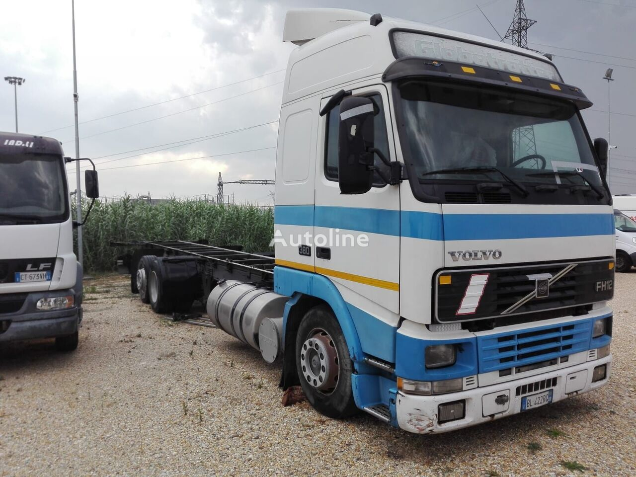 VOLVO FH 12 380 izotermik kamyon
