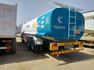 HOWO 6x4 Aluminium Compartments Fuel Tank Truck kamyon benzin tankeri