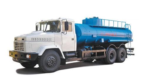 KRAZ 65053 kamyon benzin tankeri