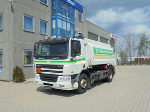DAF CF75.310 ROHR 13.500L 2 Kammern Heizöl Diesel kamyon benzin tankeri