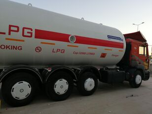 MAN TOP SYSTEM NEW BUILDED 32000L And 24000L LPG Bobtail LAST ONE IN kamyon gaz taşıyıcı
