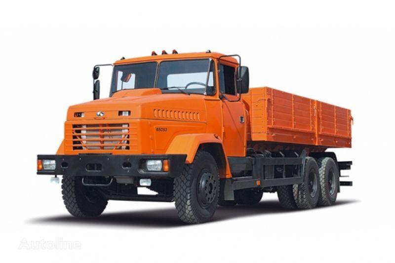 KRAZ 65053 kamyon kasa dorse