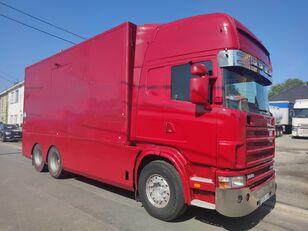 SCANIA 144 G  460  V8   6x2  ///MANUEL//RETARDER///FRENCH TRUCK/// kamyon panelvan