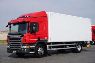 SCANIA P 250  / E 6 / KONTENER / 17 PALET / ŁAD. 9166 KG / MAŁY PRZEBIE kamyon panelvan