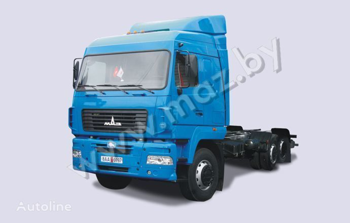 MAZ 6310 kamyon şaşi