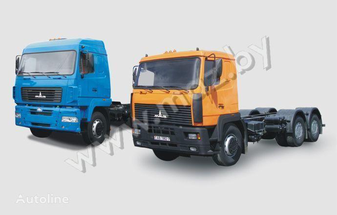 MAZ 6312 kamyon şaşi