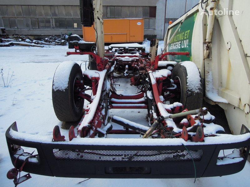 MERCEDES-BENZ 2628 kamyon şaşi