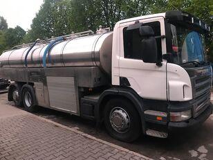 SCANIA 6x2 kamyon süt tankeri