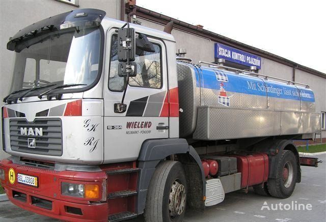 MAN 19.364 kamyon süt tankeri
