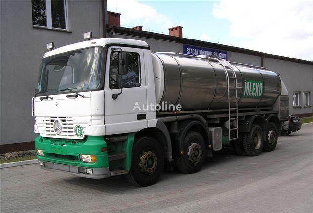 MERCEDES-BENZ ACTROS 3340  kamyon süt tankeri