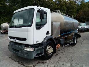 RENAULT Premium 370 370 DCI CITERNE EN INOX ETA (7000L+4000L) isotherme kamyon süt tankeri