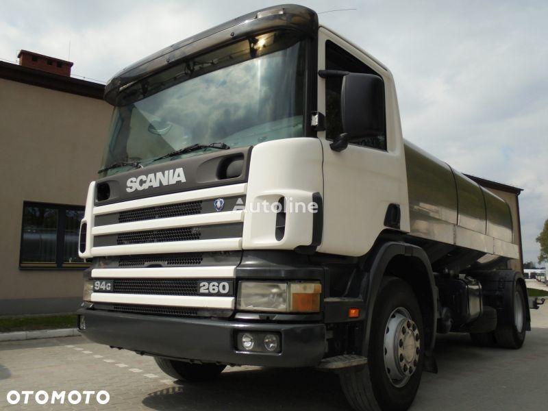 SCANIA P260 kamyon süt tankeri