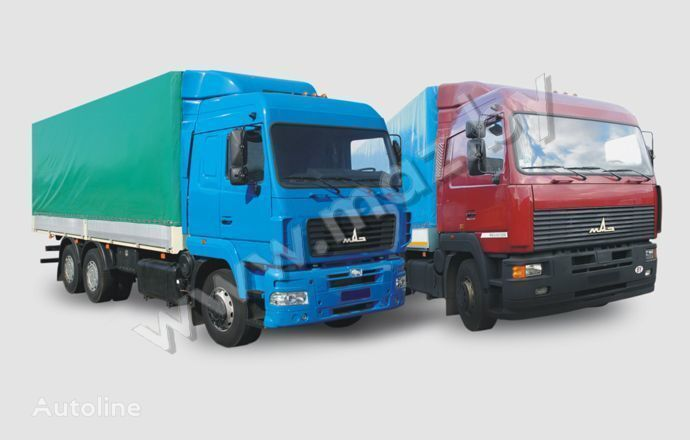 MAZ 6312 (A5, A8, A9) kamyon tenteli