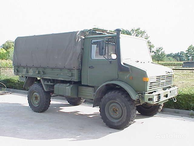 MERCEDES-BENZ UNIMOG 435/1300L kamyon tenteli