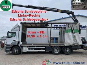 MERCEDES-BENZ 2636  kayar perdeli kasalı kamyon