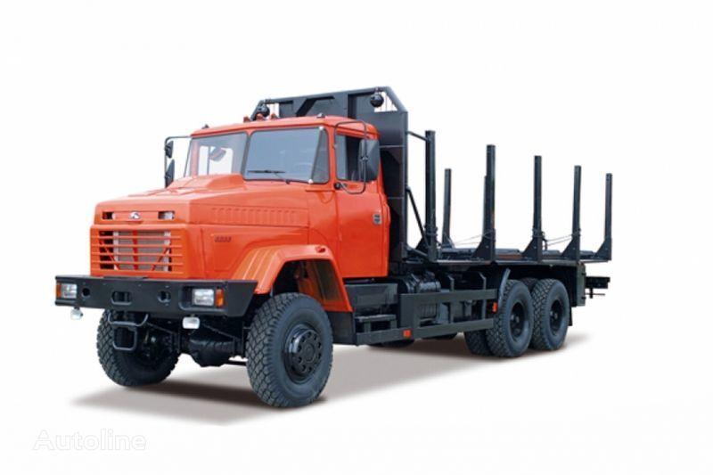 KRAZ 6233M6  kereste kamyonu