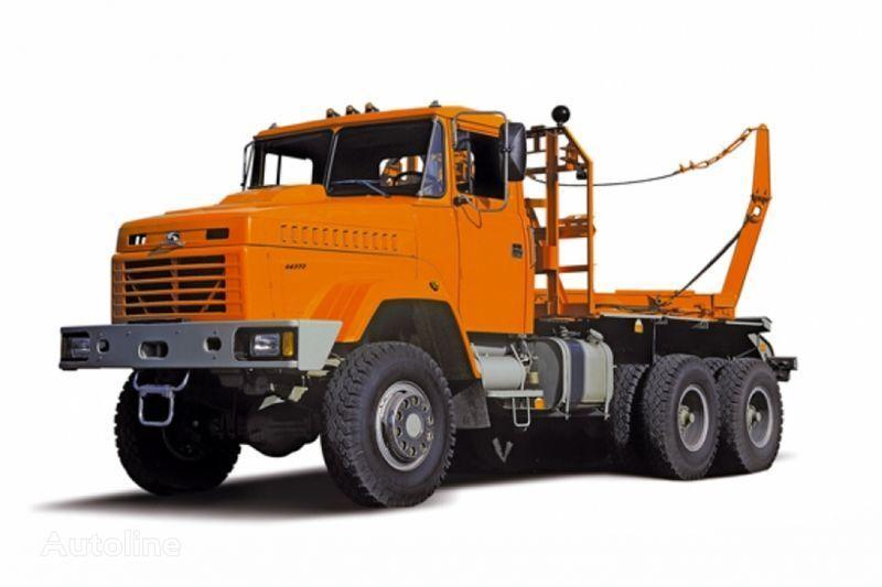 KRAZ 64372 tip 2  kereste kamyonu