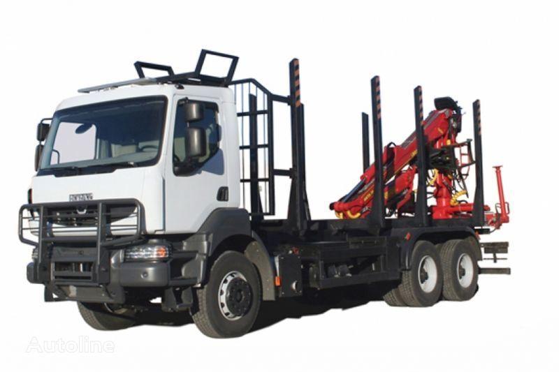 KRAZ M19.2R  kereste kamyonu
