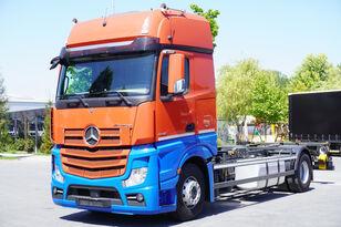 MERCEDES-BENZ ACTROS 1842, E6, 4x2, chassis 7m, BDF, GigaSpace konteyner taşıyıcı kamyon