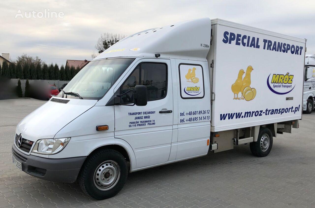 MERCEDES-BENZ SPRINTER 313 CDI DAY OLD CHICKS HATCHING EGGS TRANSPORT kuş taşıma kamyonu