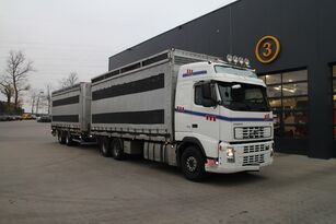 VOLVO FH12.480 6x4 kuş taşıma kamyonu + römork panelvan