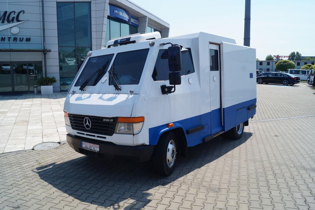 MERCEDES-BENZ Vario 813D,Bankowóz,Klasa  odporności SB4+  para taşıma aracı
