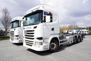 SCANIA R490 , E6 , 8X2/4 , Tridem , chassis 9m , 2x lift axle , retarde şasi kamyon