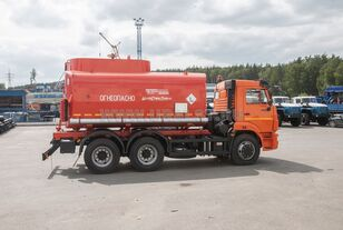yeni KAMAZ АЦ - 17 с насосом на шасси Камаз 65115-50 tanker kamyon