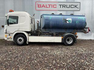 SCANIA P94-300, 4x2 HOOKLIFT + WATER TANK tanker kamyon