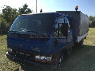 MITSUBISHI CANTER DOKA P+P 4m-es platóval tenteli kamyon