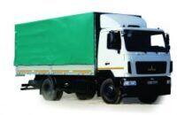 yeni MAZ 534026 tenteli kamyon