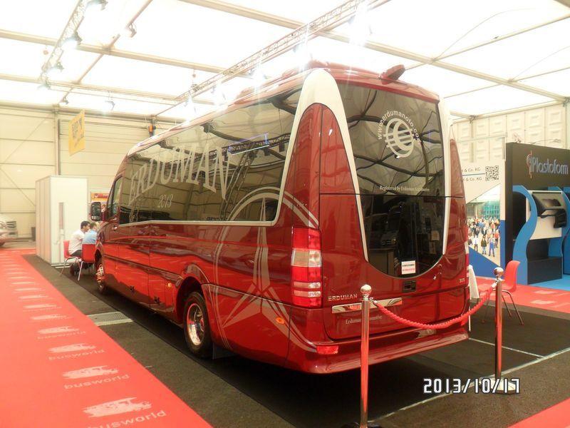 yeni MERCEDES-BENZ SPRINTER LUXUS - ERDUMAN minibüs yolcu
