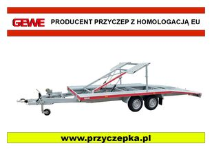 yeni GEWE L3500 F/1 Laweta piętrowa, składana araba taşıyıcı römork