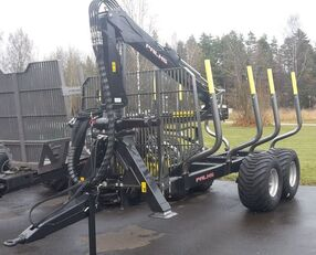 yeni PALMS 10D + crane kereste römorku