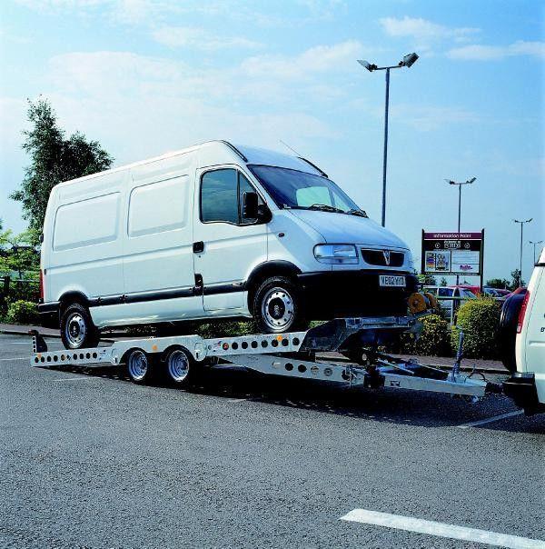 IFOR Williams CT177 römork araba taşıyıcı