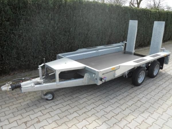 IFOR Williams GX106 3.5T PLANT TRAILER römork araba taşıyıcı
