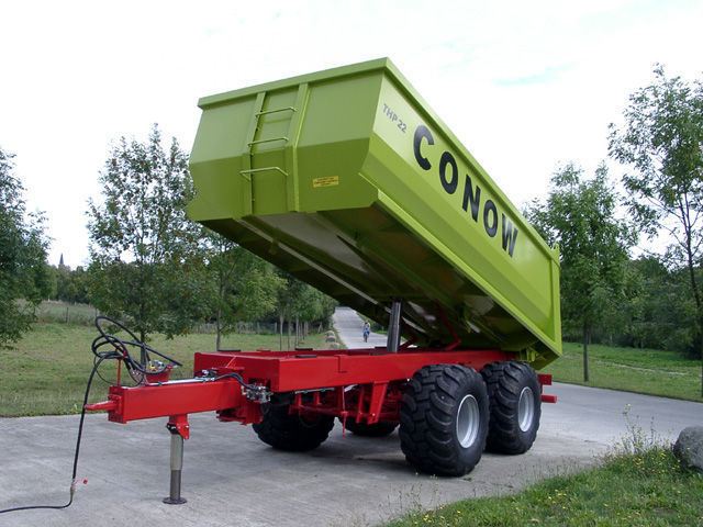 yeni CONOW THP 22 römork damperli kamyon