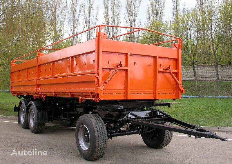 yeni KAMAZ SZAP-8538-01 römork damperli kamyon