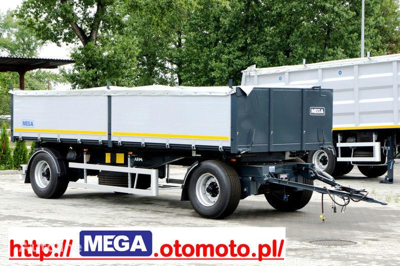 yeni MEGA 3 x way dump / 2 axel / alu bort / grainhole römork damperli kamyon