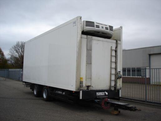 SCHMITZ Schmitz Cargobull 2 AXLE TRAILER - FRIGOBOX -THERMOKING TS-500 römork soğutma cihazı