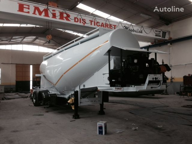 EMIRSAN Direct from Factory Customized Cement Tankers , Brand NEw  tanker çimento kamyonu