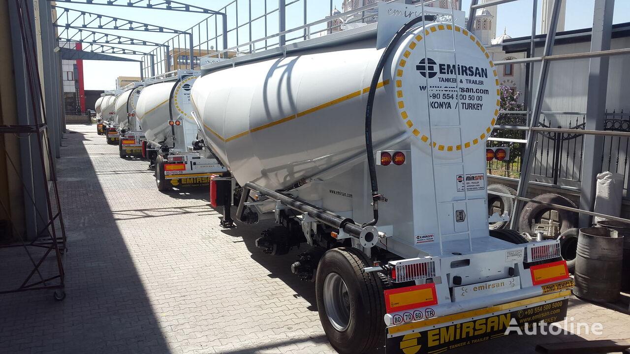 EMIRSAN Manufacturer , Direct from Factory .. tanker çimento kamyonu