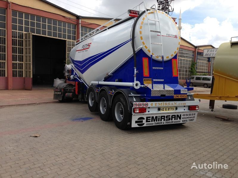 EMIRSAN Manufacturer of all kinds of cement tanker at requested specs  tanker çimento kamyonu