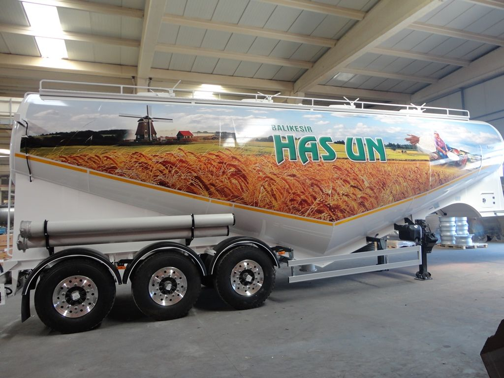 yeni NURSAN Mukovoz tanker un kamyonu