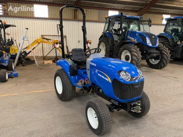 NEW HOLLAND Boomer 25 DEMO mini traktör
