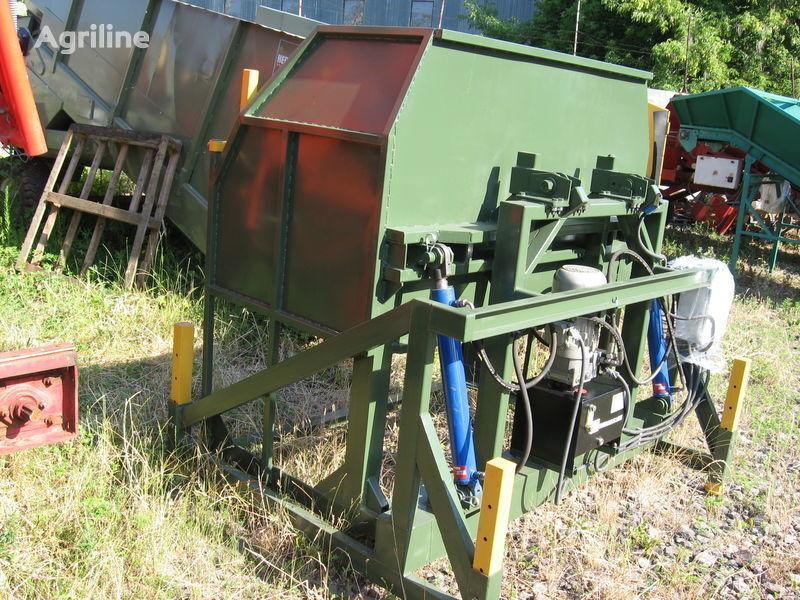 yeni KEULMAC oprokidyvatel ovoshchnyh konteynerov Serisi Bunker