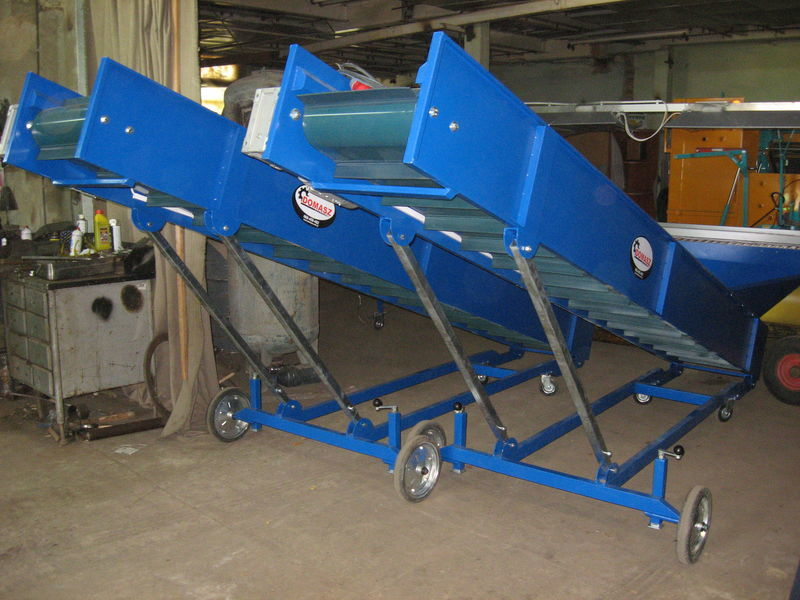 yeni transporter (konveyer) - 4m  Serisi Bunker