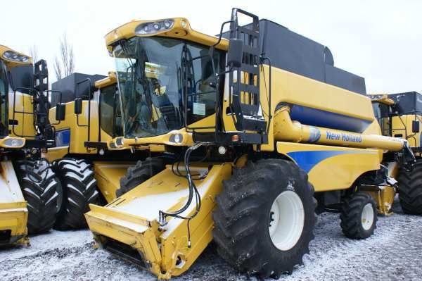 NEW HOLLAND CSX 7080 biçerdöver
